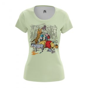 Merch Women'S T-Shirt The Pooh Winnie Bear Disney