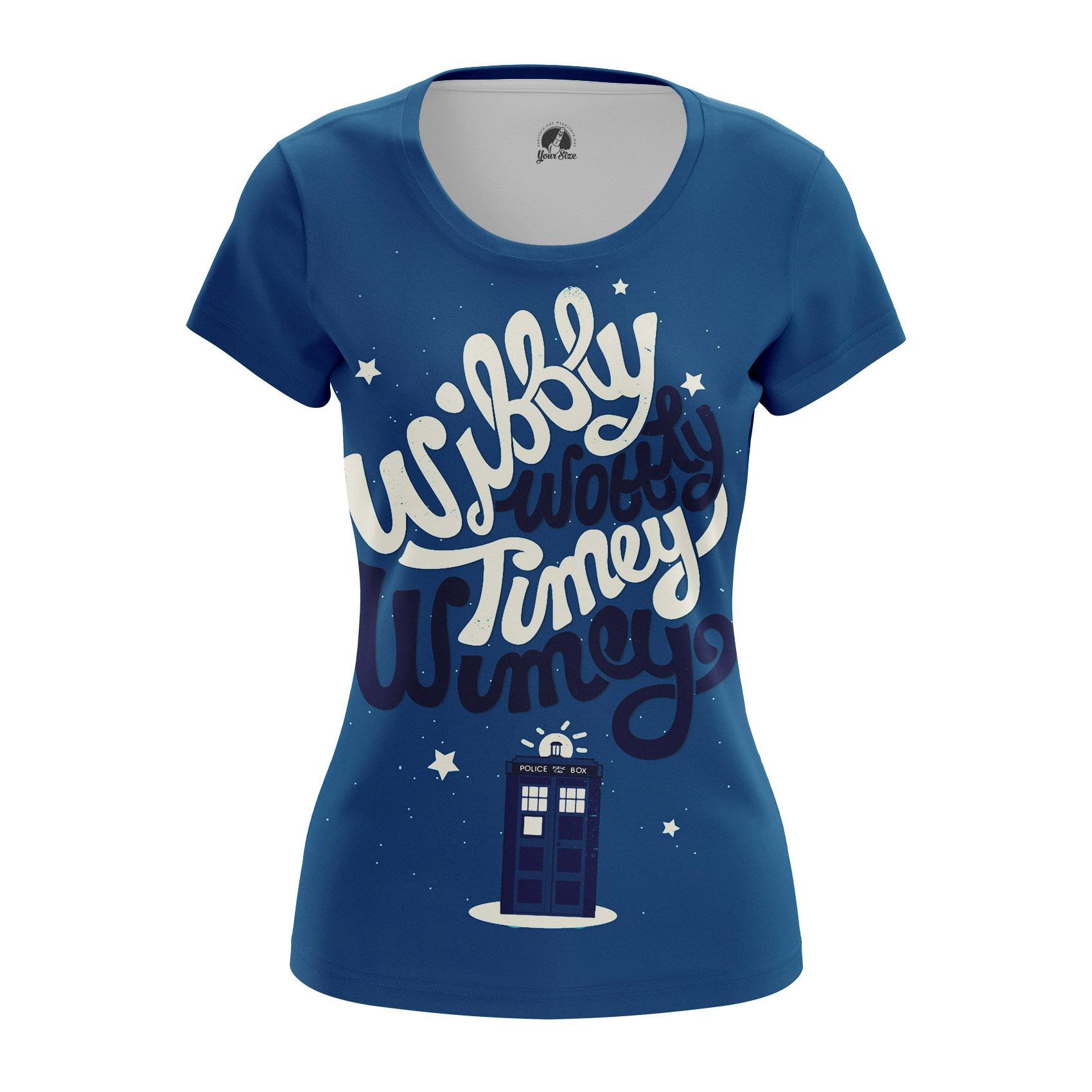 Merch Women'S T-Shirt Timey Wimey Doctor Who