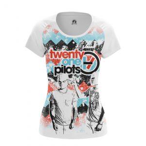 Merchandise Women'S T-Shirt Twenty One Pilots Shirts Clothes