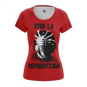 Collectibles Women'S T-Shirt Viva La Reproduction Che Guevara Alien