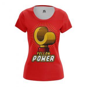 Merch Women'S T-Shirt Yellow Power Lego