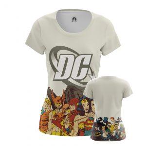 Collectibles Women'S T-Shirt Dc Comics Superheroes