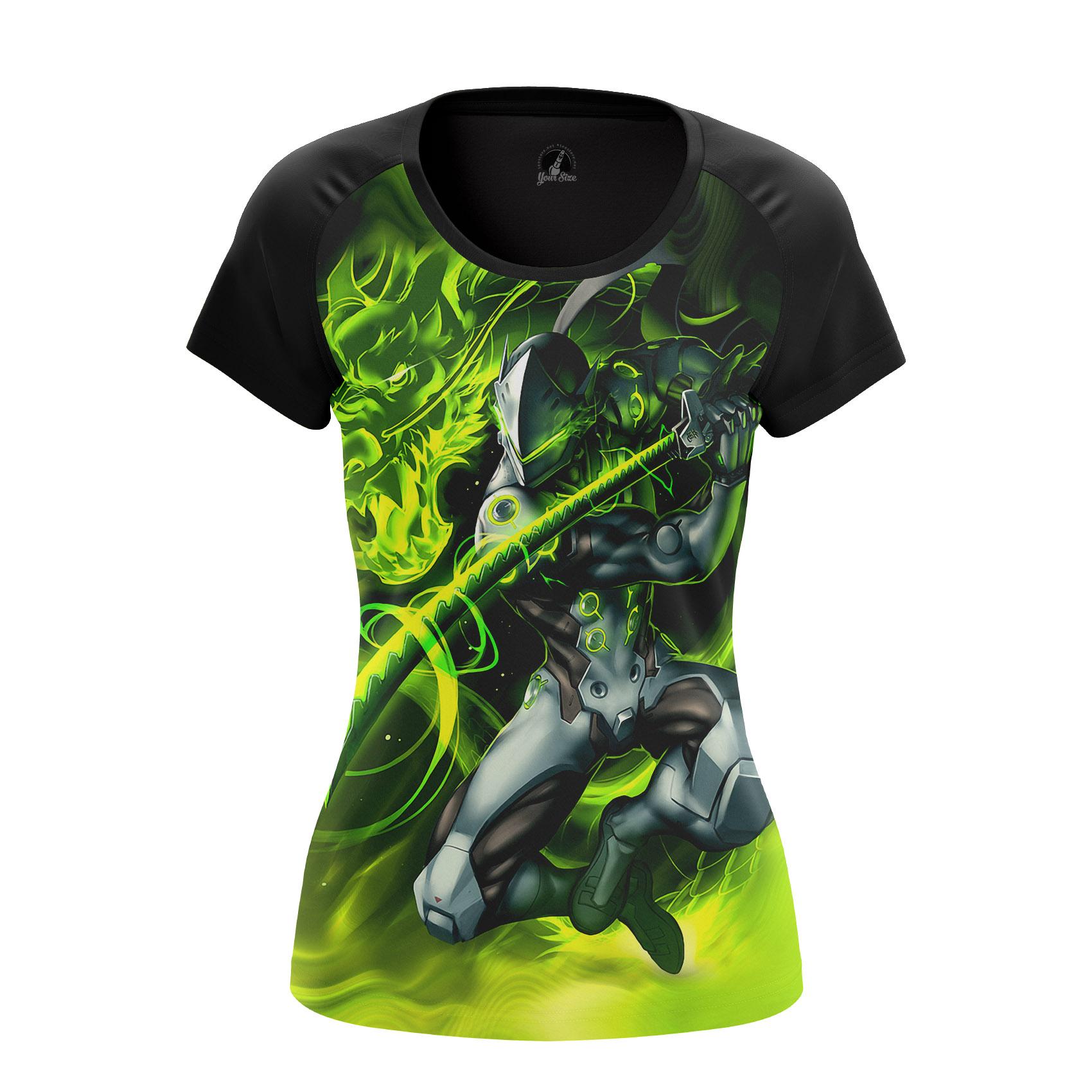 Merchandise Women'S Raglan Genji Overwatch Gaming