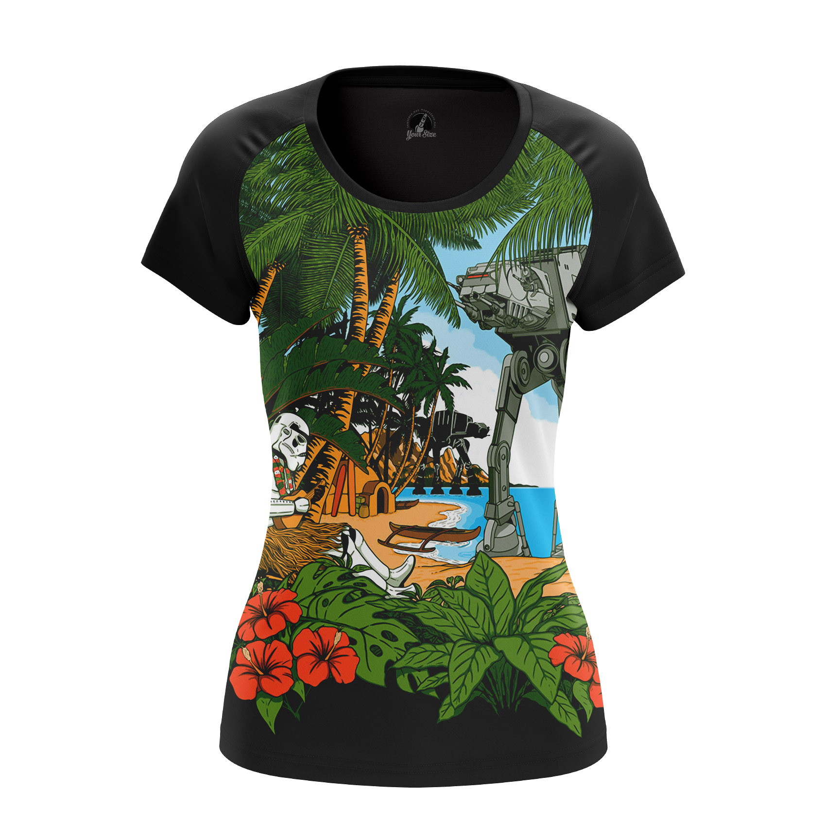 Collectibles Women'S Raglan Greetings From Scarif Star Wars