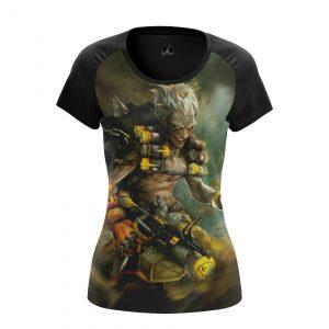 Merch - Women'S T-Shirt Junkrat Game Overwatch