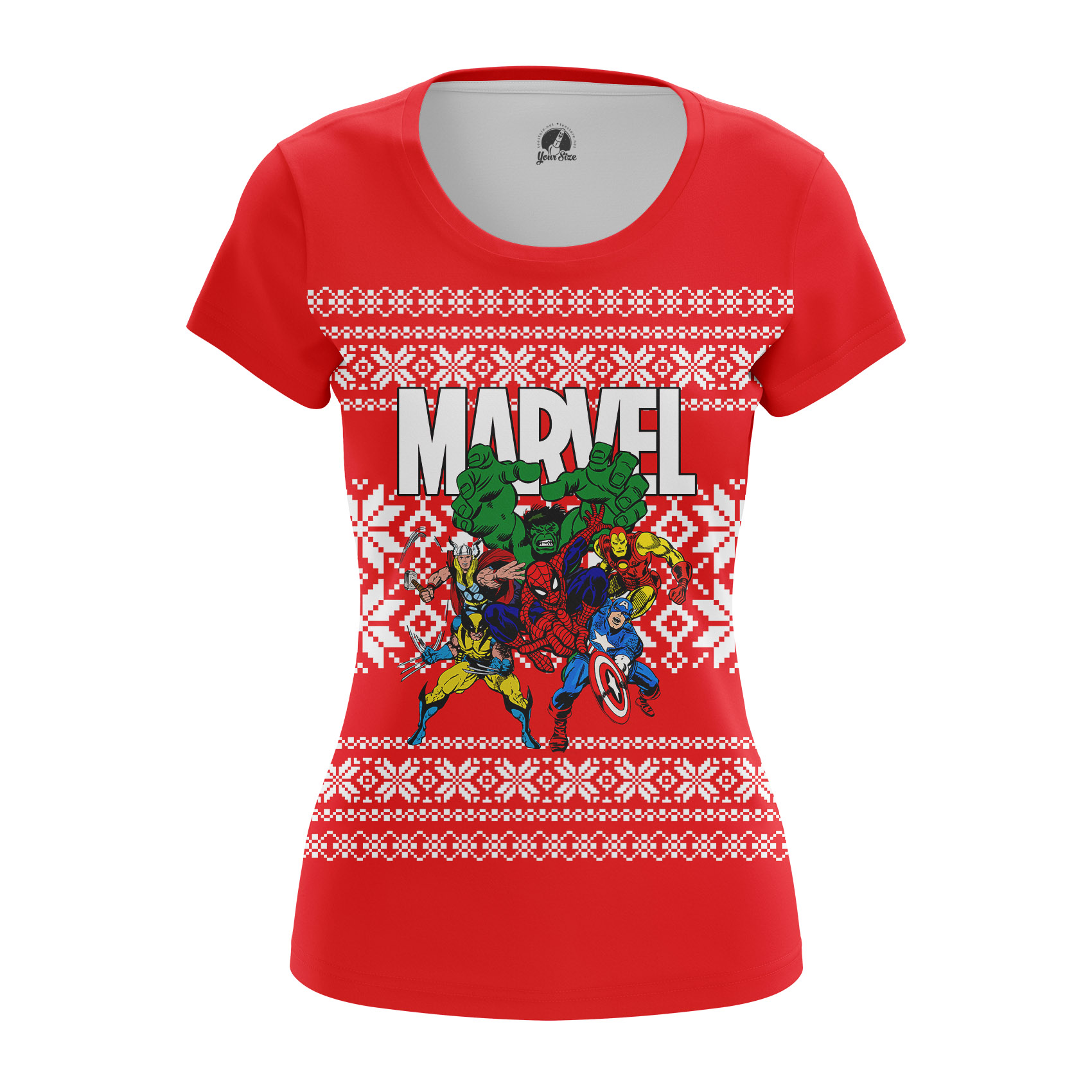 Collectibles Women'S Long Sleeve Marvel'S Eve Xmas Special