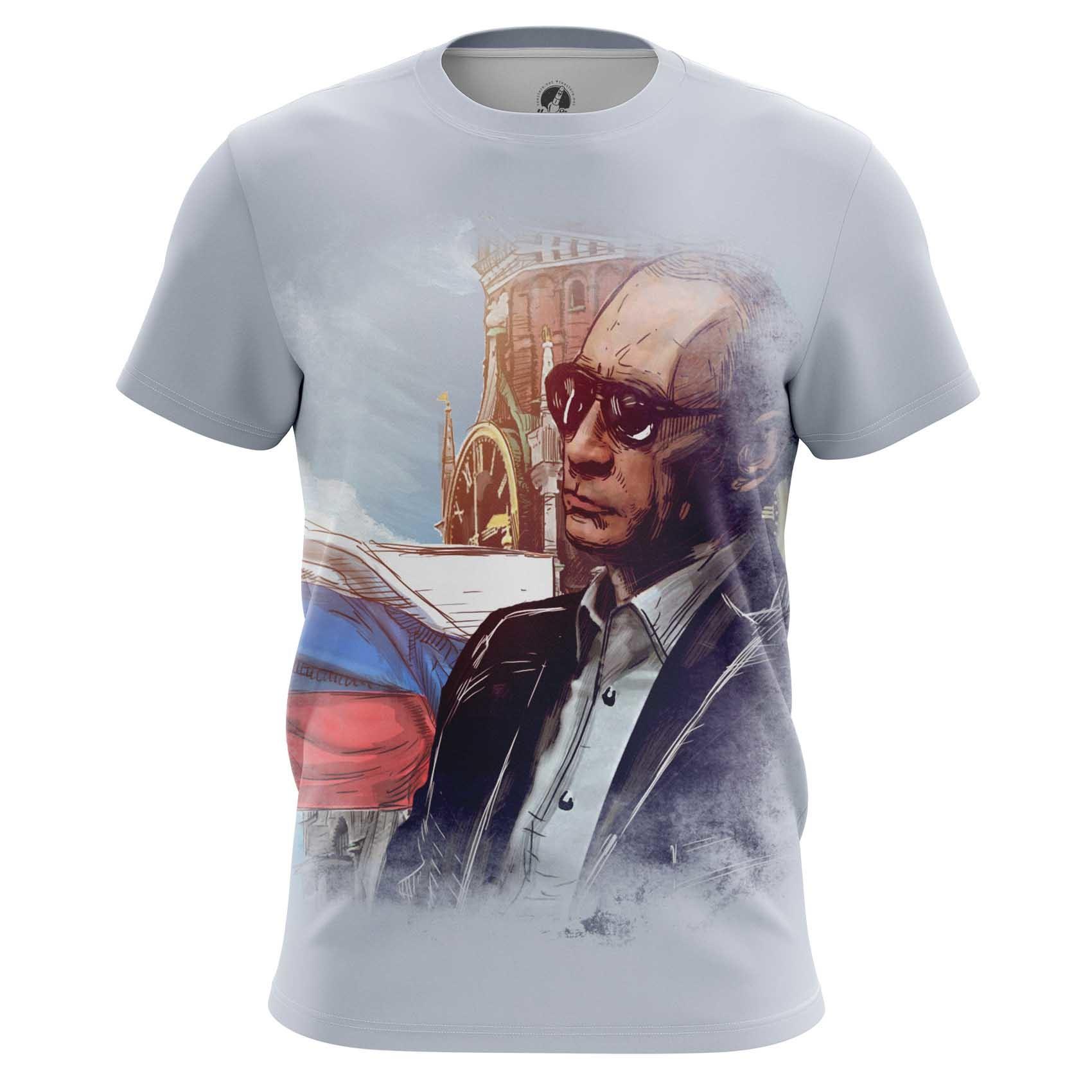 Merchandise Men'S T-Shirt Vladimir Putin President Russia Russian President