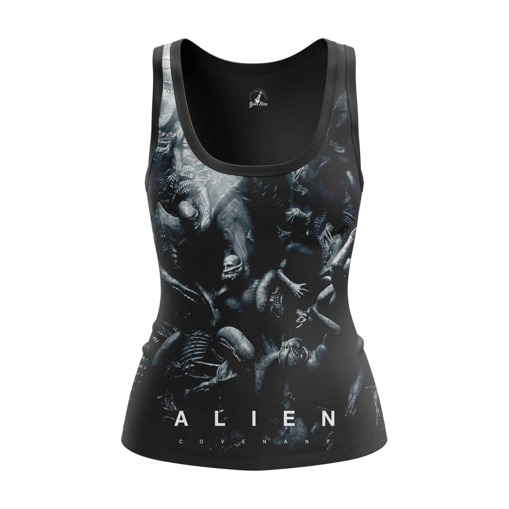 Merchandise - Women'S Tank Covenant Aliens Movie Vest