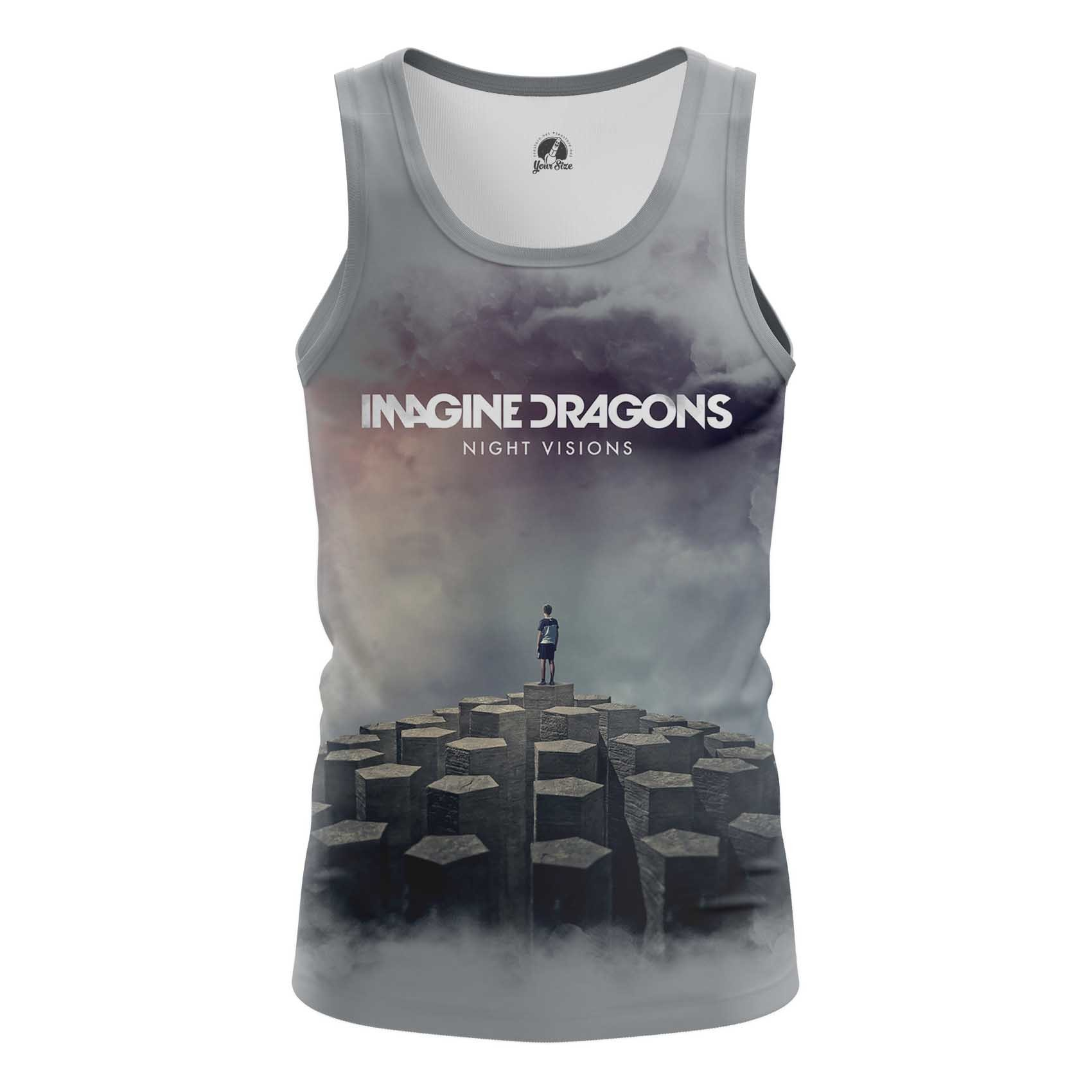 Collectibles Men'S T-Shirt Imagine Dragons Night Visions