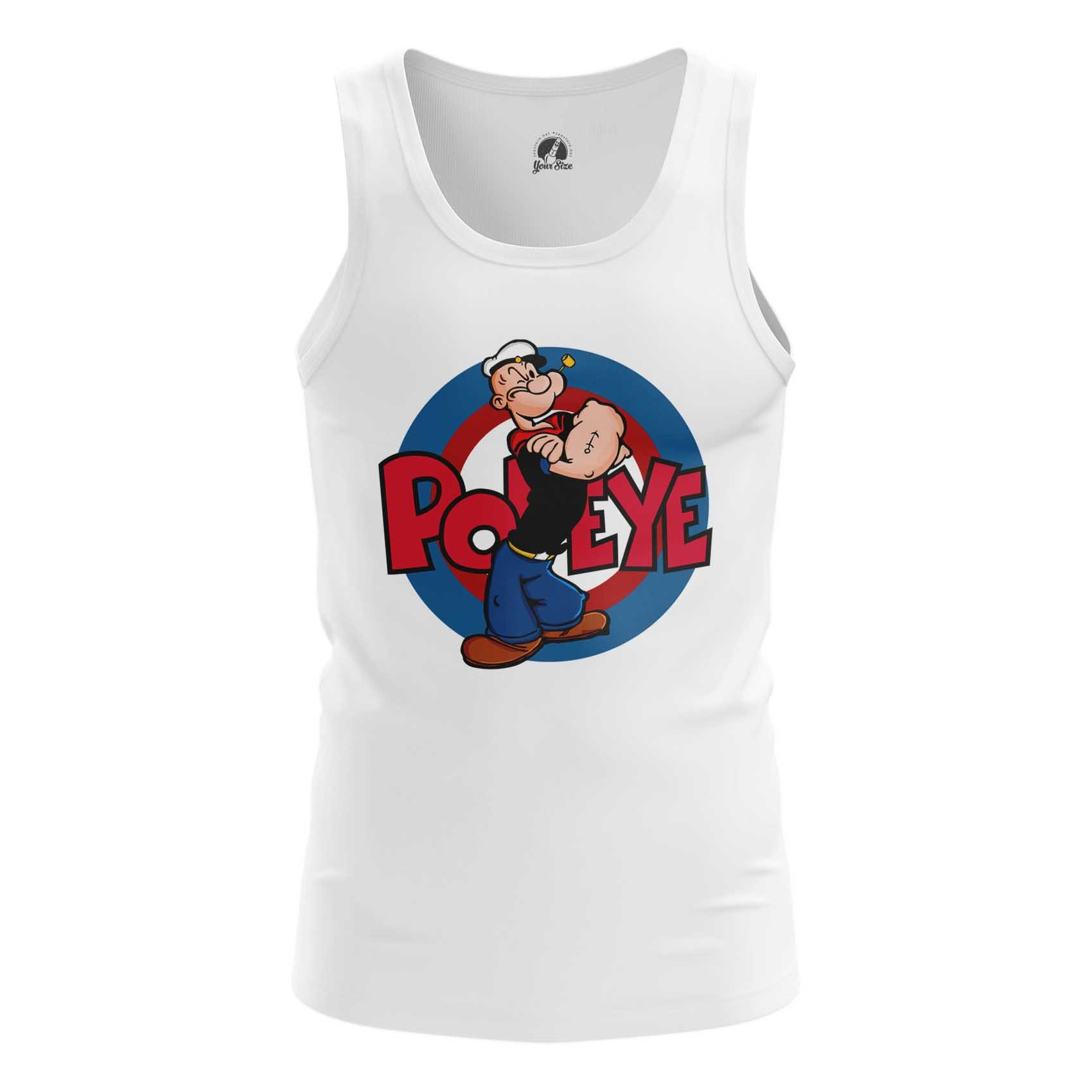 Merch Men'S T-Shirt Popeye Sailor Logo Art