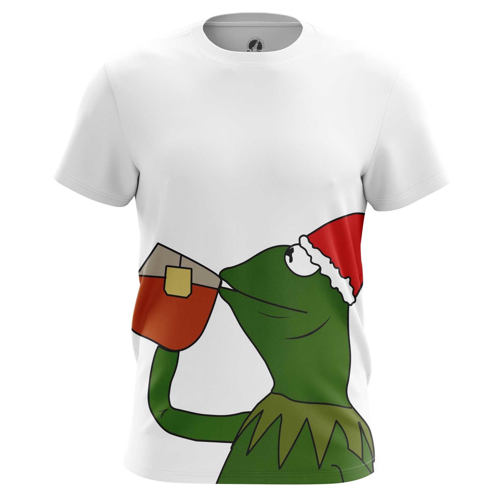 Collectibles T-Shirt Kermit Frog Christmas Meme