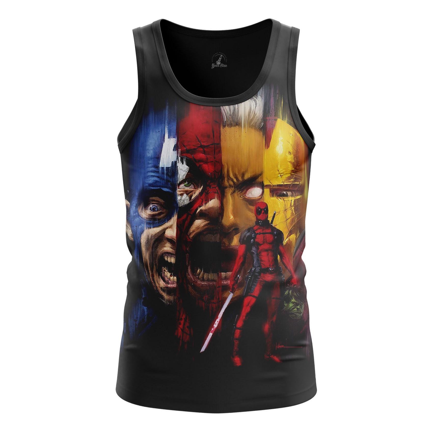 Merch Men'S Tank Deadpool Marvel Vest