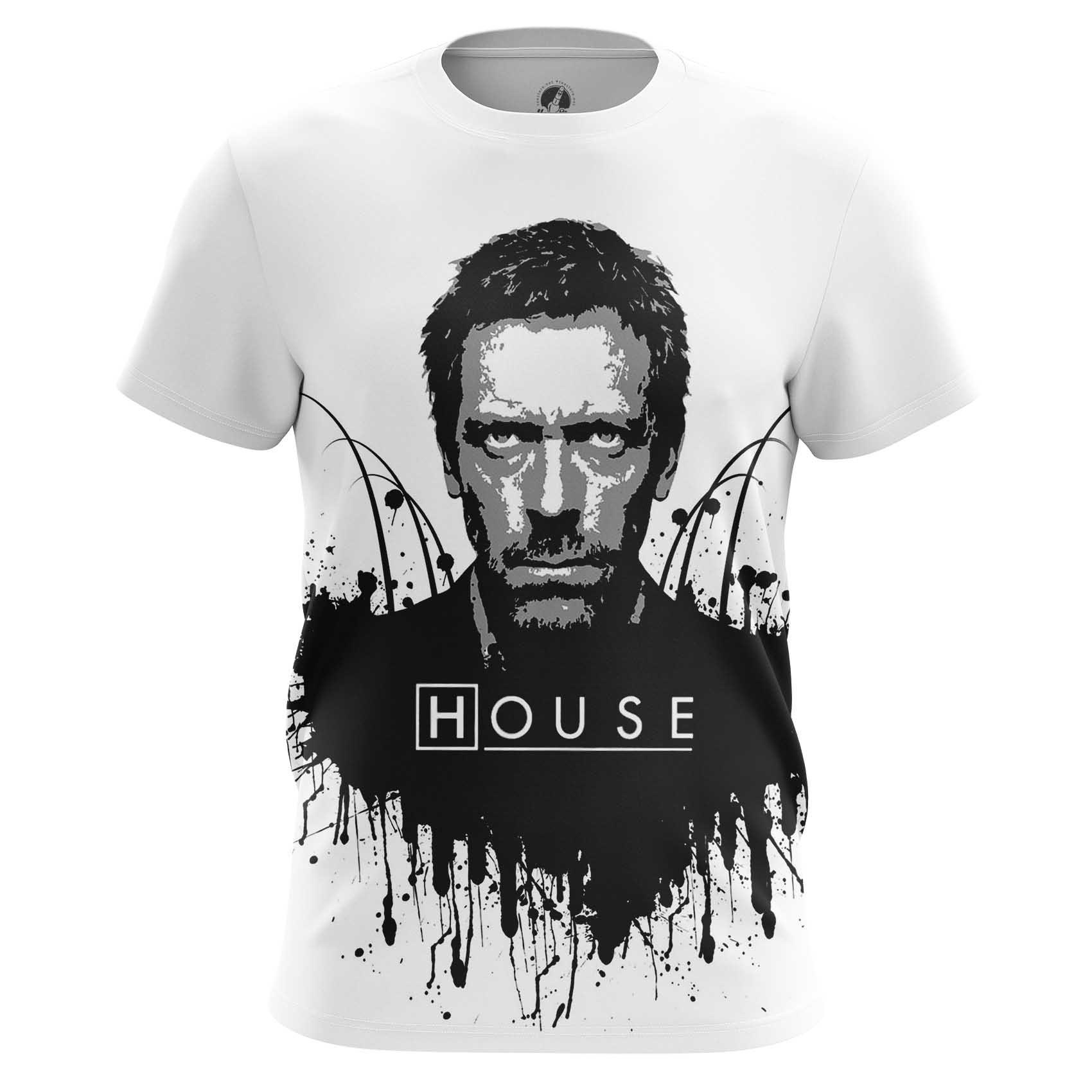 Merch House Md Men'S T-Shirt White Black