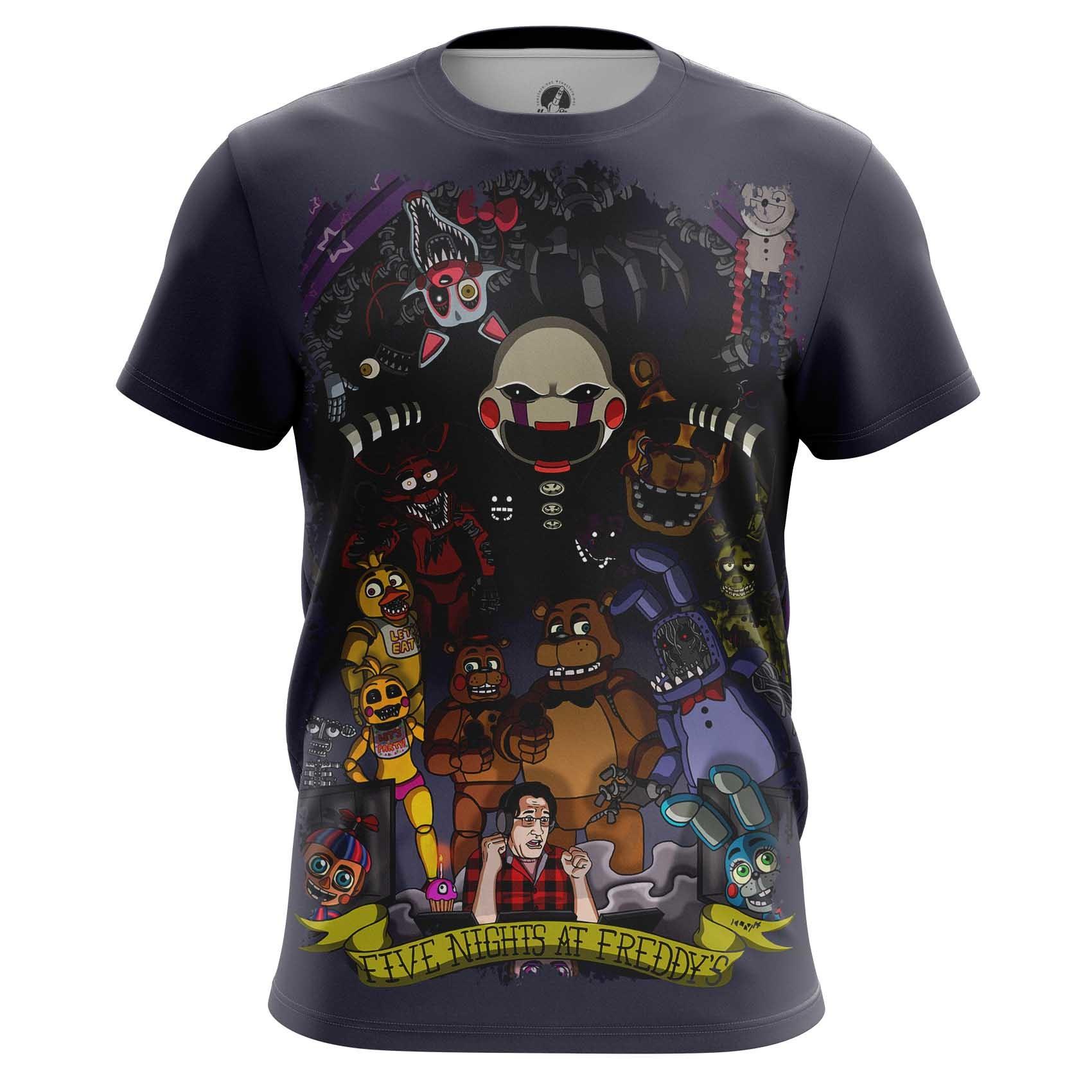 Merchandise Men'S T-Shirt 5 Nights At Freddy'S