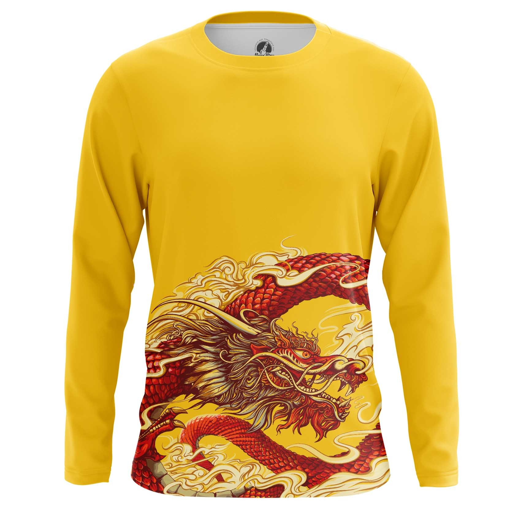 Merch Long Sleeve Chinese Dragon Chinese Mythology Folklore