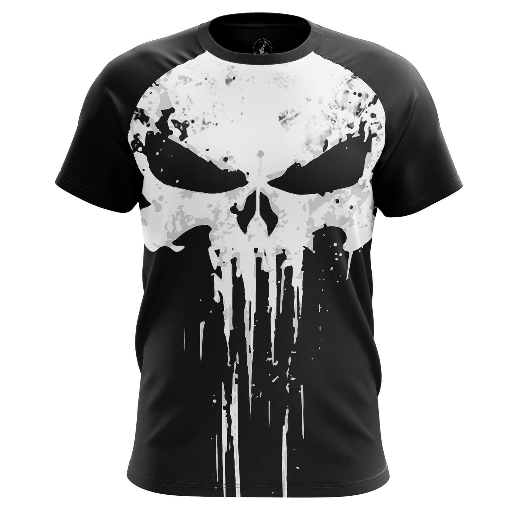 Merch Men'S T-Shirt Punisher Big Big