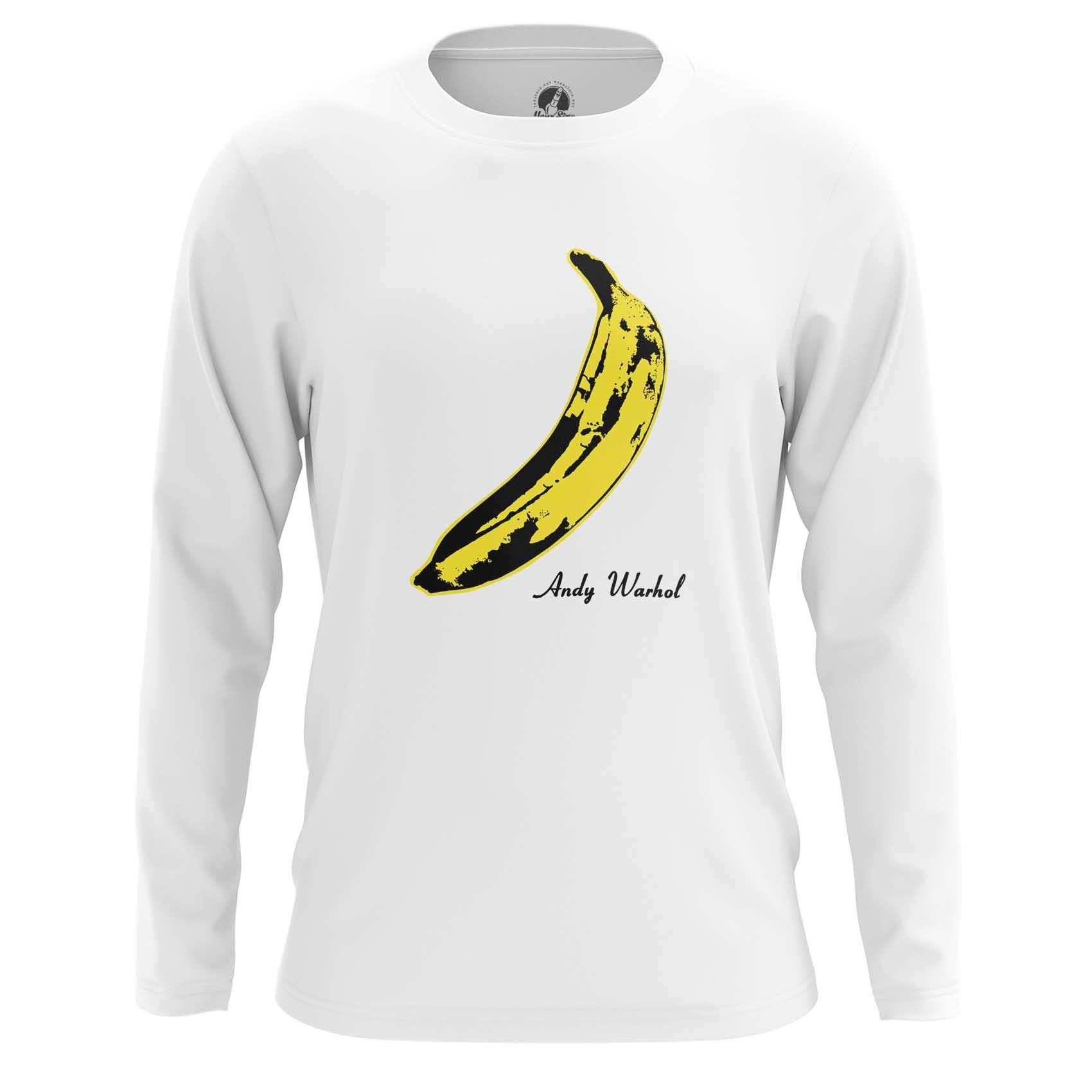 Merch T-Shirt Andy Warhol Banana Velvet Underground