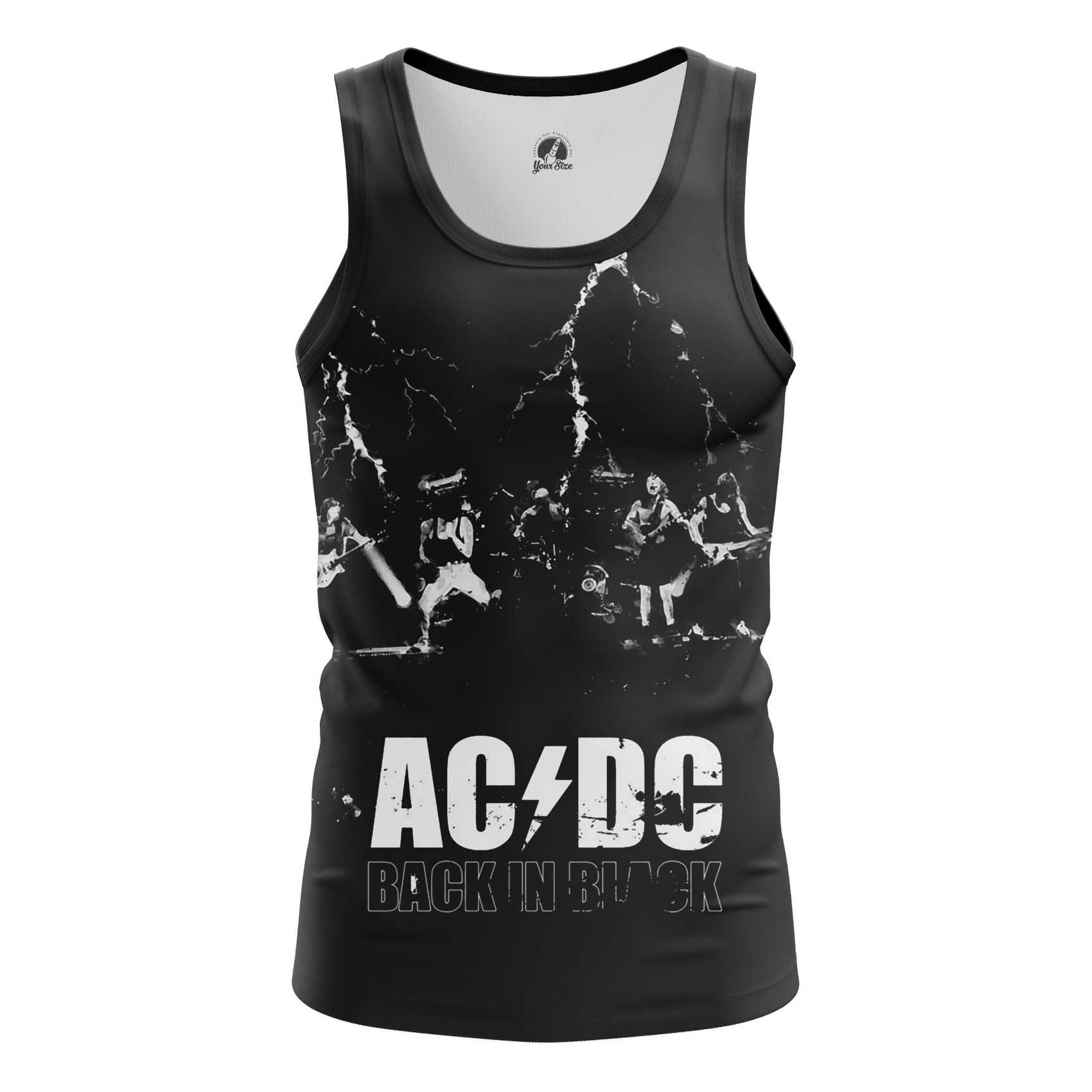 Collectibles Long Sleeve Ac Dc Gear Fans Back In Black