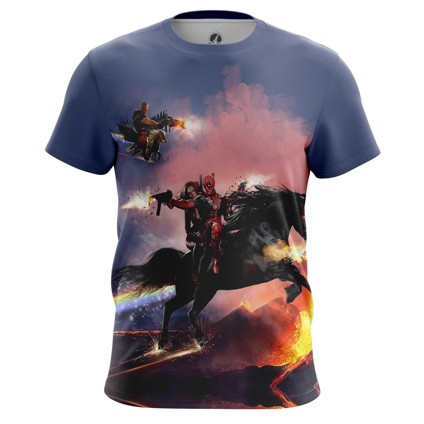Collectibles Men'S T-Shirt Cable &Amp; Deadpool Merch