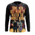 Merchandise Men'S Long Sleeve Watch World Burn Edward Blake Watchmen Joker