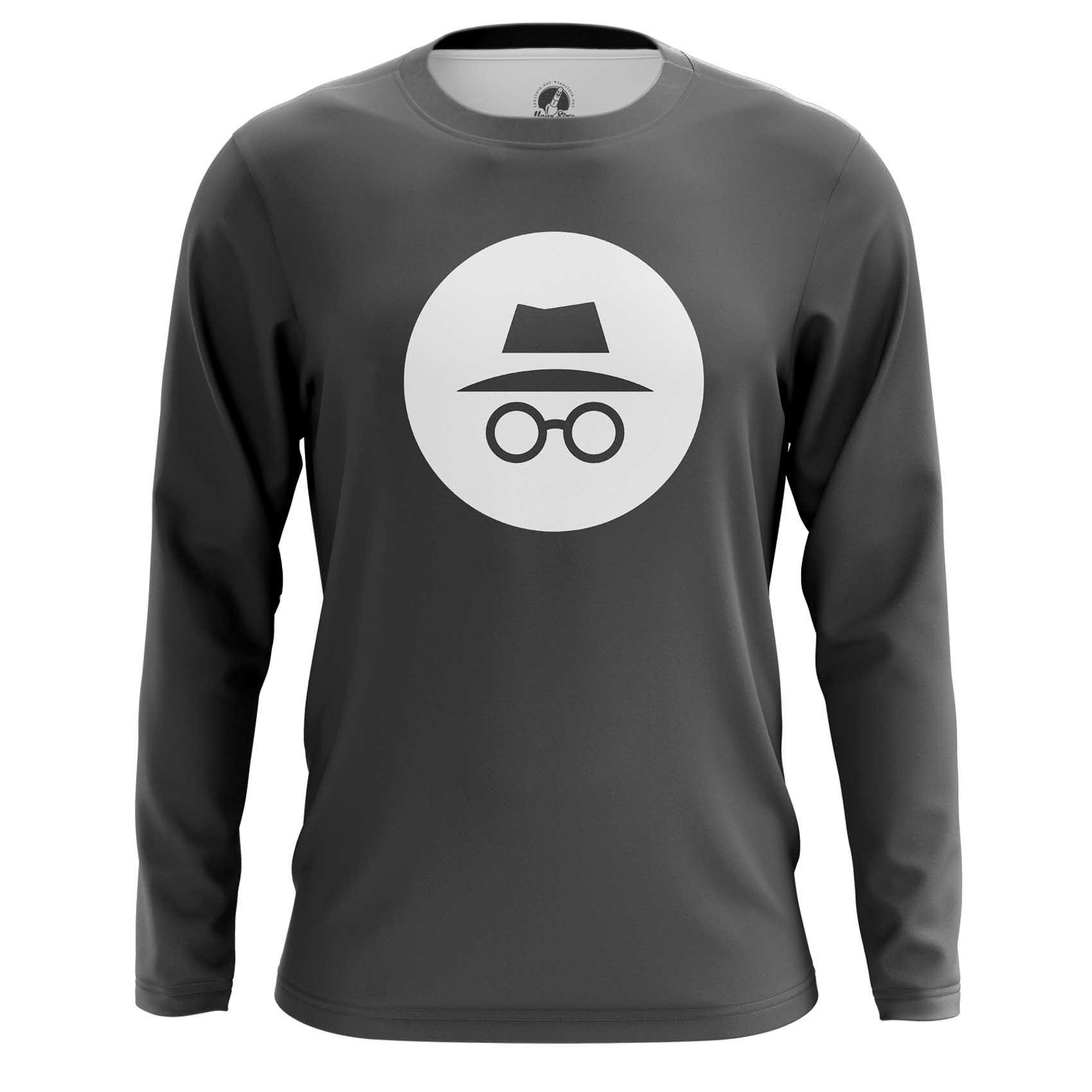 Merch Men'S T-Shirt Privacy Mode Incognito Web Fun Art Merch