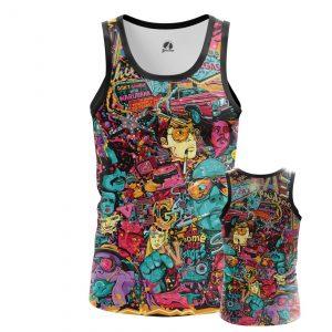 Merchandise Men'S Tank Fear And Loathing Las Vegas Vest