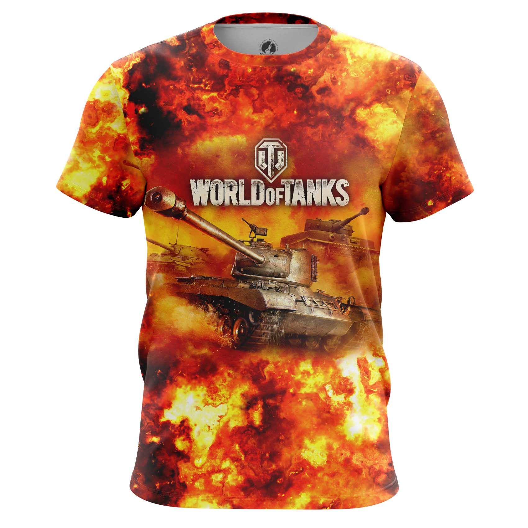 Merch Long Sleeve World Of Tanks In Fire Arcade