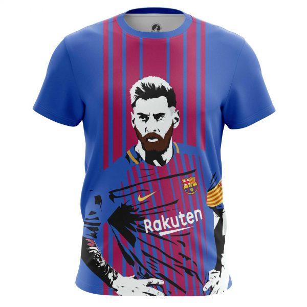 pretty nice 0bbab 28d52 Men's t-shirt Messi Barcelona Art Illustration