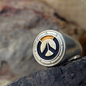 Merchandise Ring Overwatch Logo Badge Symbol