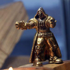 Merchandise Mini Figure Reaper Overwatch Handmade Statue