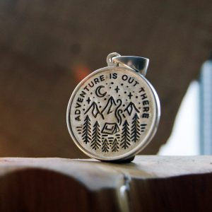 Merchandise Adventure Is Out There Inspiring Pendant