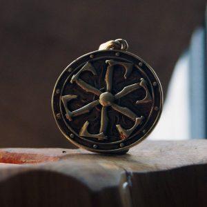 Merchandise Slavic Sun Axe Of Perun Hatchet Amulet Necklace