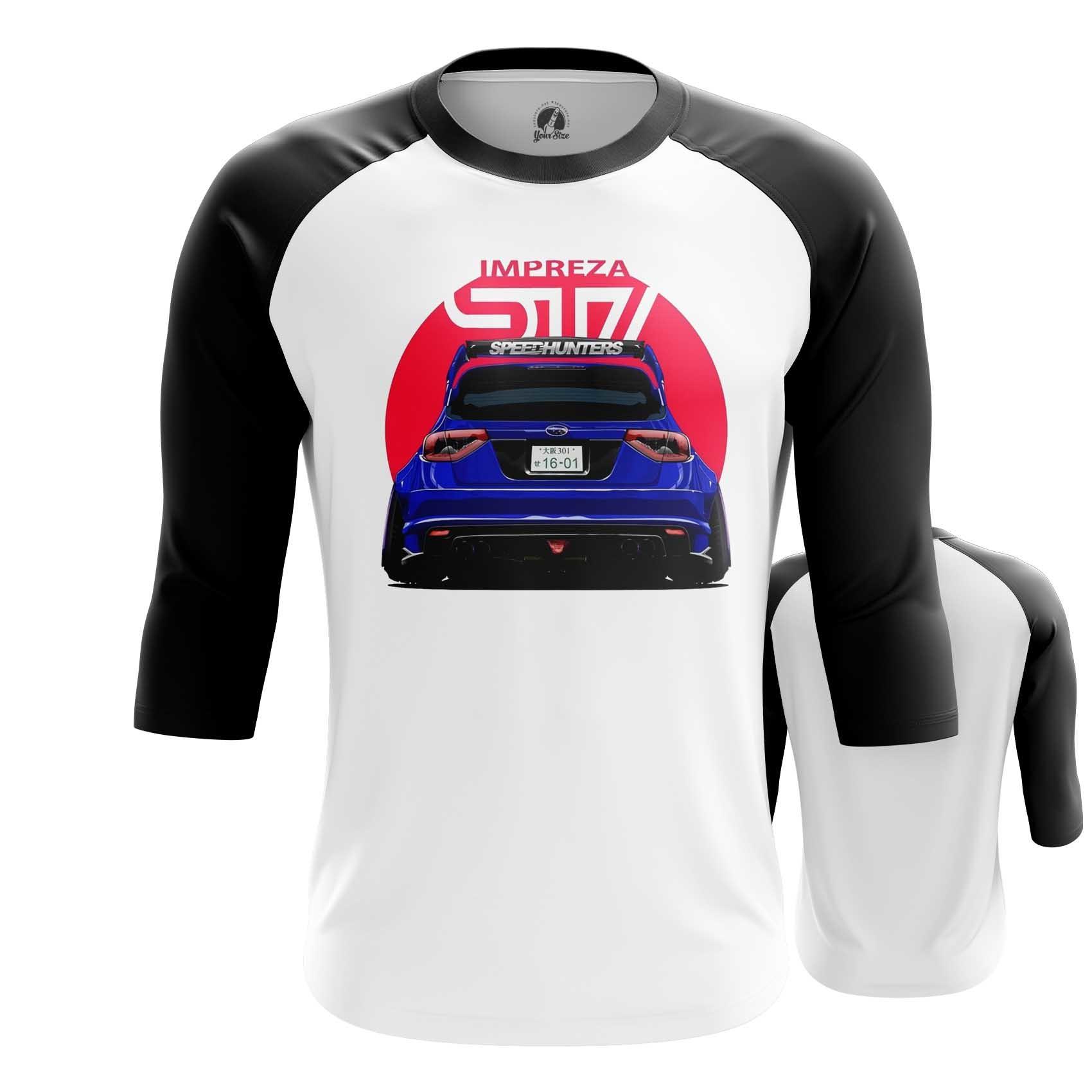 Merchandise Raglan Subaru Merch Japan Flag