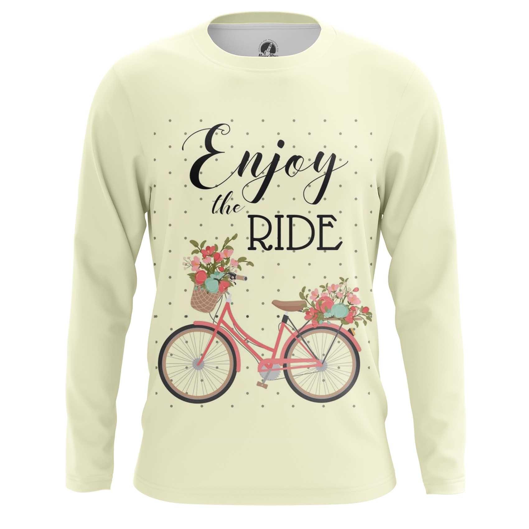 Merchandise Raglan Enjoy Ride Bicycle