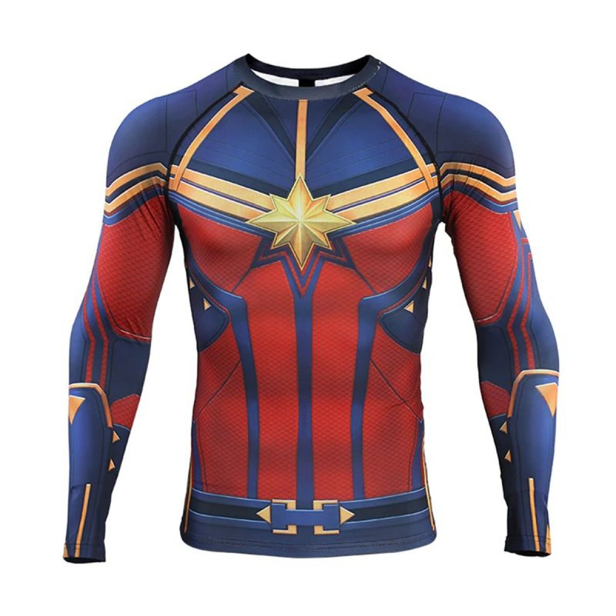AVENGERS Marvel DC SUPERHERO COSPLAY COMPRESSION PREMIUM Fitness T-SHIRT GYM TOP