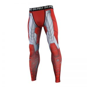 MK5 Iron Man 3D Printed Pattern Compression Tights Pants Men 2019 Sweatpants Skinny Leggings Trousers Male 4 result