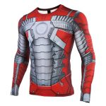 - Mk5 Iron Man 3D Printed T Shirts Men Avengers Compression Shirt Cosplay Costume Captain American Long Result