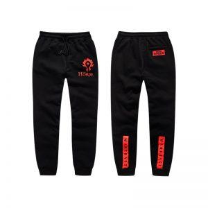 Merchandise Pants Horde World Of Warcraft Red Logo Premium