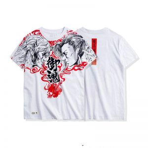 Merchandise T-Shirt Rashomon Ghost Japanese Folklore Movie White