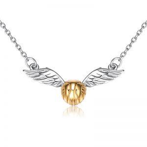 Merchandise Snitch Necklace Harry Potter Pendant