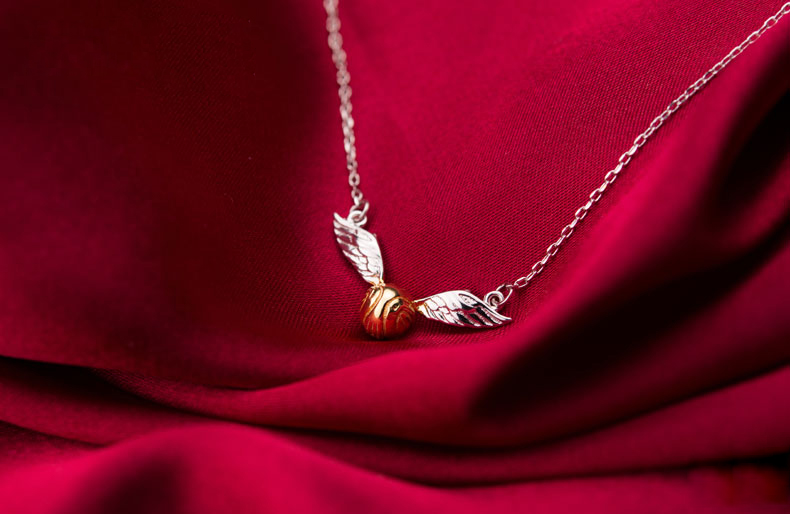 - Snitch Necklace Harry Potter Pendant Buy Accessories