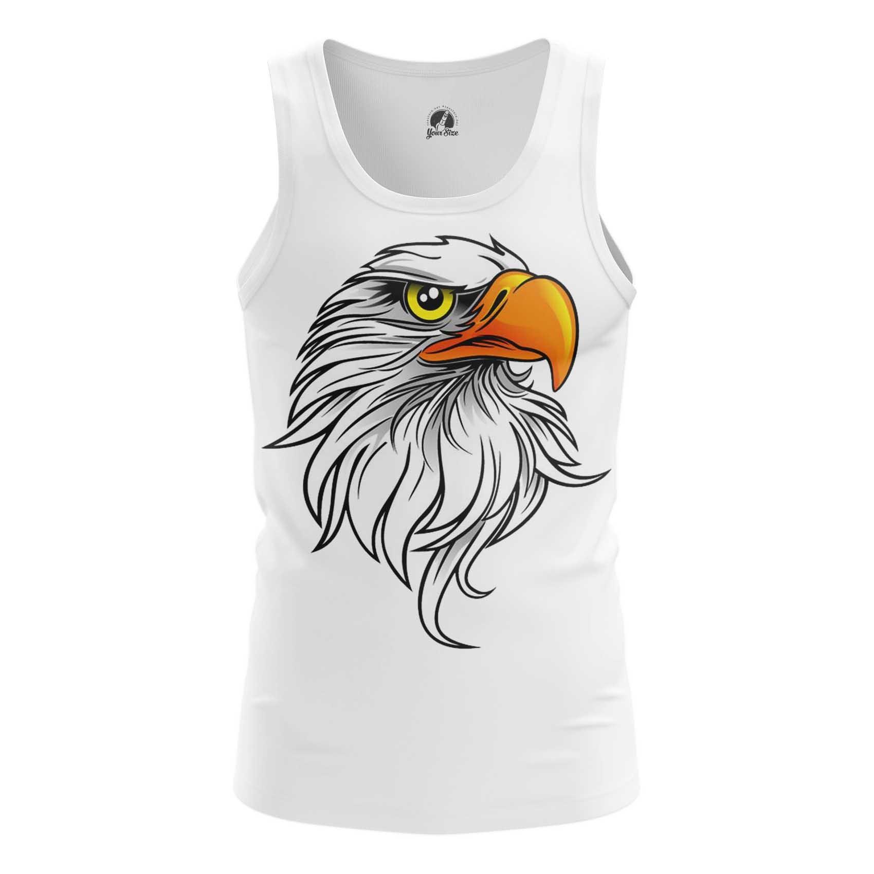 Collectibles T-Shirt Rock Eagle Head Print White