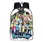 Merchandise - Backpack Rick And Morty All Characters Bag