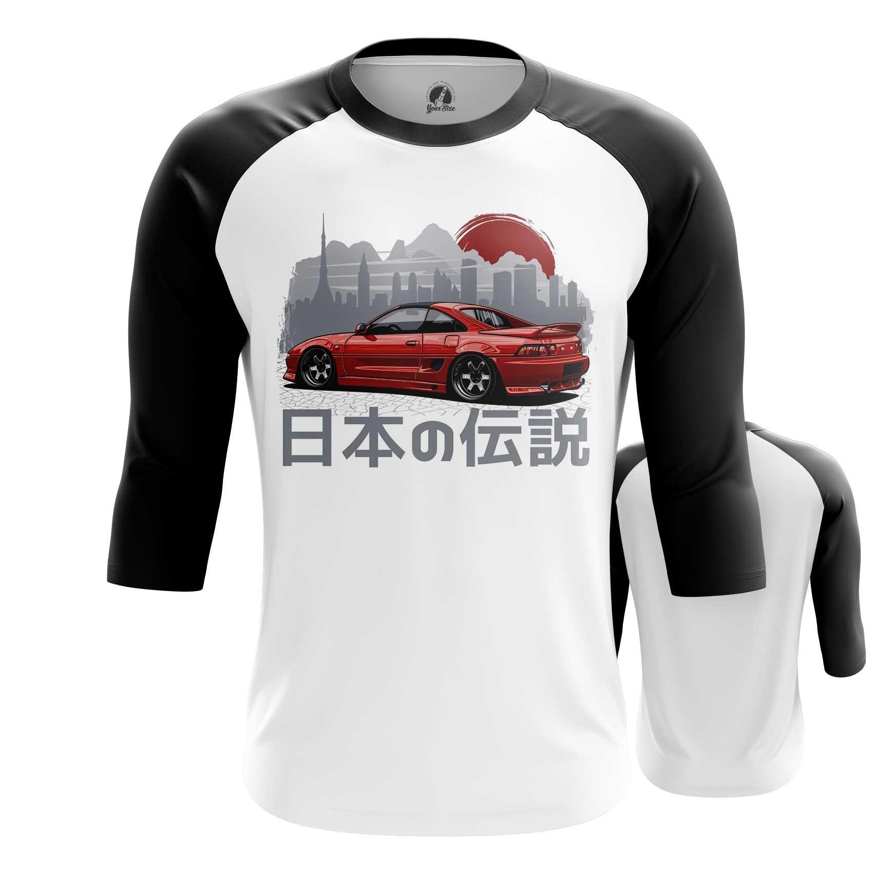 Merch Raglan Jdm Nissan Car Print