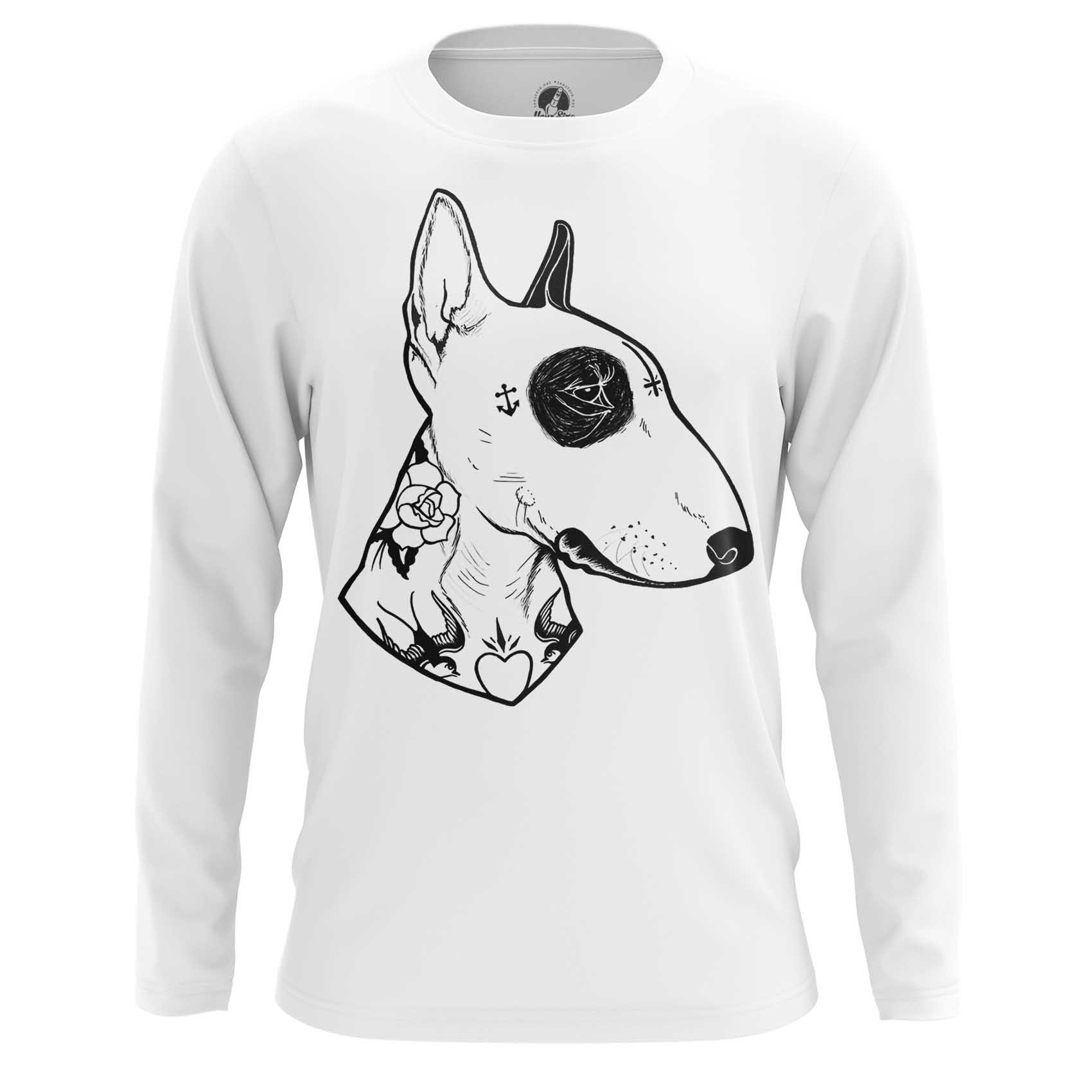 Merchandise T-Shirt Bull Terrier Black White