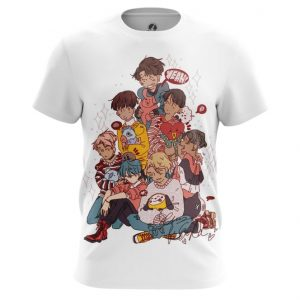 Collectibles T-Shirt Bts Korean Band Print