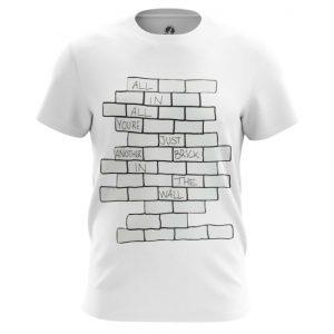 Merch T-Shirt The Wall Pink Floyd White Top