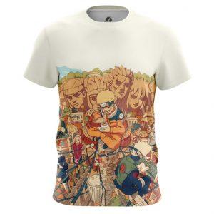 Collectibles Naruto T-Shirt Uzumaki Shippuden White