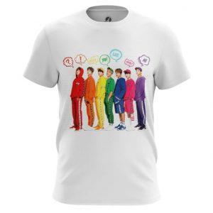 Collectibles T-Shirt Bts Rainbow Art Print