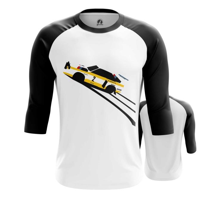 Merchandise Raglan Yellow Audi Quattro Print